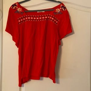 Hazel Uvada Embroidered Detailed Top